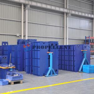 Echangeur de chaleur de la plaque industriels /Barriquand pour condition de stockage de glace dans l'air