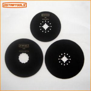 Höhenflossenstation das runde Oszillieren Sägeblatt 3-1/8  (80mm) für Ausschnitt-Holz