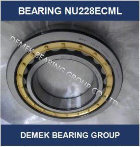 Rolamento de roletes cilíndricos Nu228 Ecml com compartimento de Latão