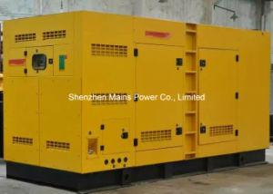 tipo silenzioso BRITANNICO gruppo elettrogeno di potere standby di 275kVA 220kw diesel