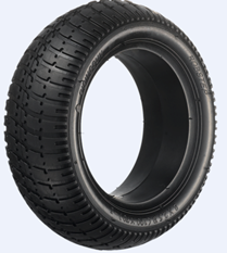 Hohle aufblasbare Gummireifen Jiang-Xin - freie ausgeglichene Auto-Reifen