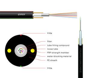 Tube lâche de petit diamètre câble à fibres optiques (Gyfxy)