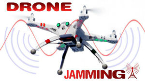 Drone de largo alcance Jammer/ Uav Jammer /Jammer GPS hasta 1500m