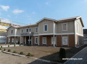 軽い鉄骨構造のプレハブの住宅の家(KXD-SSW176)