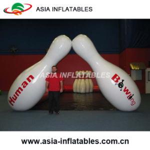 人間の膨脹可能なボーリング・ボール水氷の歩く泡球