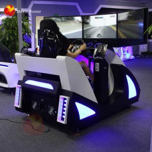 Divertido Simulador de carro de corrida com 3 telasconfortável Racing Seat