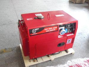 generatore diesel portatile a tre fasi di 50Hz 6.5kVA con il livello acustico di meno che 56dB