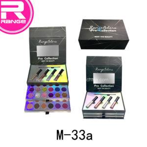 직업적인 메이크업 장비, 반짝임 Eyeliner, 반짝임 Eyeshadown 의 완전한 메이크업 장비, 개인 상표 화장품