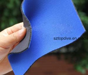 Materiale permeabile all'aria del tessuto del neoprene con il foro di aria