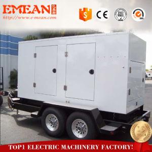 15Ква-250ква портативных мобильных дизельных генераторов прицепа с САР