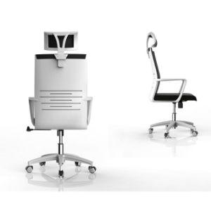 高い背部卸売はナイロンベースが付いているPPのオフィスの椅子を模倣する