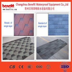 Preiswerter Baumaterial-Asphalt-Schindel-Dach-Fliese-Produktionszweig