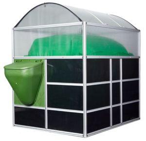 Usina de biogás Resíduos de Transferência do digestor de metano no gás de cozinha