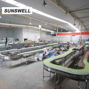 Vullende Afdekken van Bottleblowing van het Drinkwater van de Verkoop van Sunswell het Lage in India
