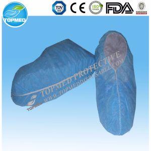 Couvertures antidérapantes remplaçables de chaussure du Nonwoven pp pour l'industrie de transformation alimentaire