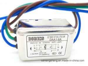 Filtro EMI EMC Monofásico de filtro de línea de alimentación de CA