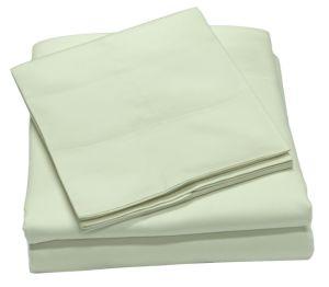 350tc 100%年の綿シートセット、柔らかい綿繻子の織り方、女王シート、豊富な資金源、ホテルのコレクション、贅沢な寝具、極度の販売の100%年の綿の女王の寝具