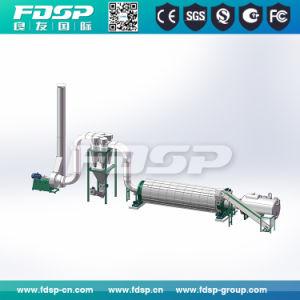 Professional 1-2tph biomassa a linha de produção de pelotas