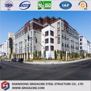 Diseño modular Multistorey Edificio de Oficinas de la estructura de acero prefabricados