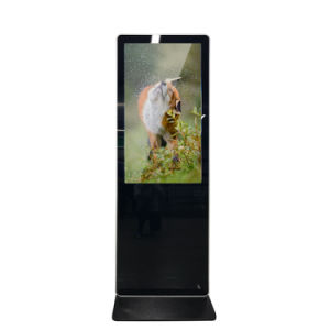 Ecrã táctil LCD de 32 visor digital de chão do painel monitor de ecrã táctil
