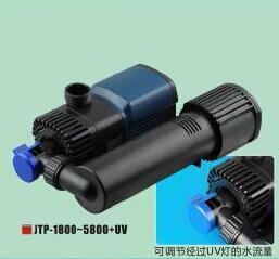 Variation de fréquence UV-C de la pompe à clarifier (JTP-1800+UV) avec la CE a approuvé