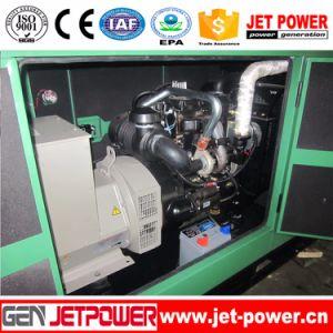 3段階の防音のおおいの無声ディーゼル機関100kVAの発電機