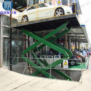 Tipo tesoura carro elevador hidráulico portátil/ Parado elevador de tesoura