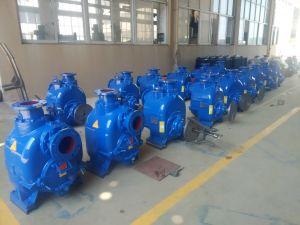 수평한 고용량 Self-Priming 하수 오물 펌프