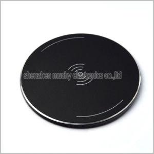 Четыре цвета алюминиевый сплав 7,5 раунда зарядное устройство беспроводной связи