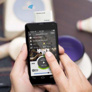 2.4GHz draadloze Hoofdtelefoon voor Mobiele Telefoon