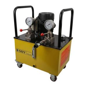 Manual de doble efecto de la unidad de potencia hidráulica eléctrica