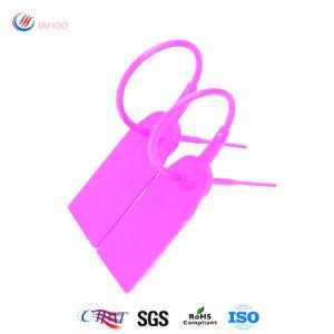 La sécurité des conteneurs jetables de fabricant de l'huile le joint en plastique avec numéros de série