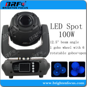 Intelligtent Mini 100W LED Spot Moving Head Stage Lights