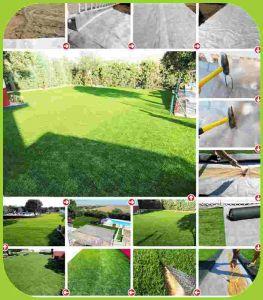 Dekoratives im Freien landschaftlich verschönerndes künstliches Gras mit preiswertem Preis