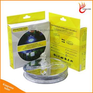 Для использования вне помещений портативный надувные кемпинг 10 LED солнечных батареях лампа с видом на сад IP65 сертификат