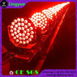 RGBW Zoom 36x10W Cabezal movible LED Iluminación DJ Haz