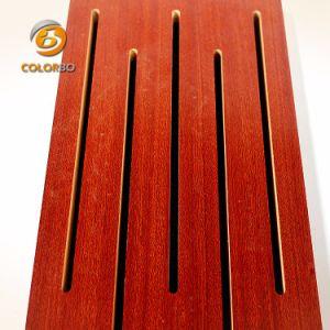 De bonnes performances acoustiques emplacement Panneau acoustique En bois pour l'Indoor Stadium/cinéma