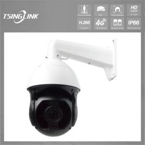 Camera van kabeltelevisie PTZ van de Hoge snelheid van de Visie van de nacht HD de Weerbestendige IP66