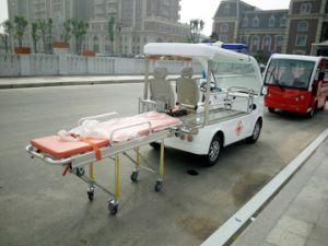 Ymj-J604uma ambulância eléctrica profissional de Tipo Aberto Carro com ferramenta de Primeiros Socorros