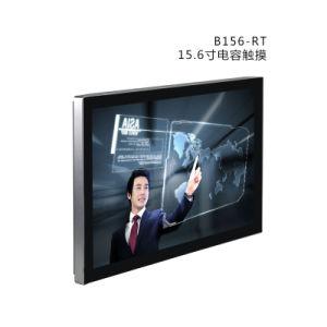 Ecrã panorâmico de 15,6 polegadas Monitor de ecrã táctil capacitivo
