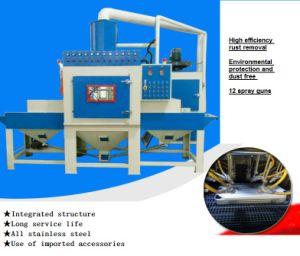 コンベヤーの自動サンドブラスティング装置の発破機械