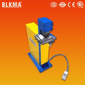 Coin HVAC conduit pneumatique V Machine de découpe de l'encoche