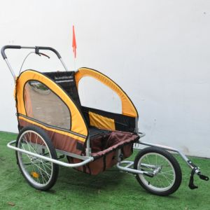 Remolque de bicicleta bebé
