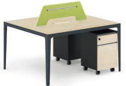 Провод управления лотка откройте мебель письменный стол 2 сидячих мест в таблице (клеи-YY)