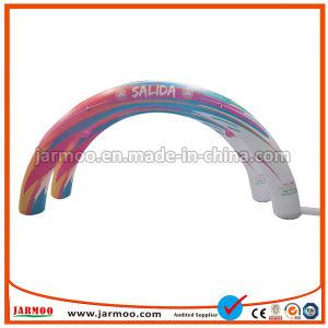 ブロアが付いているDuable 0.6mm PVC膨脹可能なアーチ