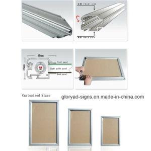 LED-Aluminium-Verschluss-Bildschirmanzeige-Rahmen