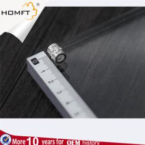 S925 de Zilveren Holle Vijf Toebehoren van de Juwelen van de Parels DIY van het Bloemblaadje Cilindrische Met de hand gemaakte