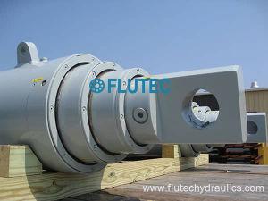 最もよい産業および移動式のための材料によってボルトで固定されるヘッドマルチ段階の望遠鏡の水圧シリンダ