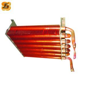 冷やされた水のためのフリーザーの蒸化器コイル