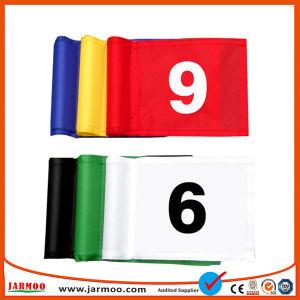 Jarmoo Oxford Campo de Golf personalizadas de poliéster tejidos banderas con el tubo
